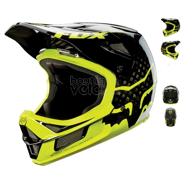 casque bmx race fox