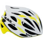 Casque KASK Mojito blanc/jaune fluo