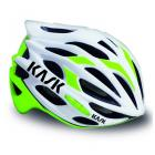 Casque KASK Mojito blanc/vert lime